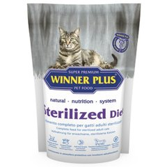 Winner Plus Super Premium Cat Sterilized diet 300 г