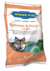 Winner Plus Holistic Salmon & Potato - Гипоаллергенный сухой корм для собак с лососем и картофелем (150г)